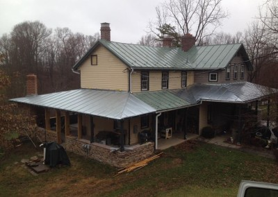 Galvanized Standing Seam Roof Hardin Roofing Amp Exteriors
