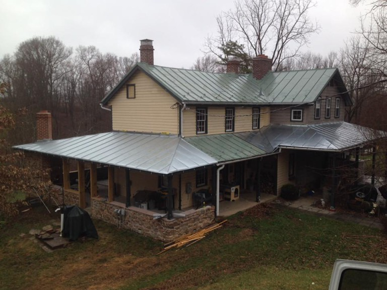 Galvanized Standing Seam Roof
