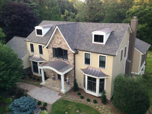 Copper Bay Windows & Portico – Ellicott City, Maryland