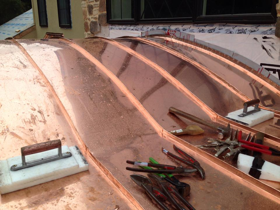 Copper Roofing Hardin Roofing Amp Exteriors