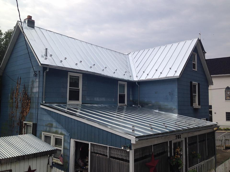 Galvanized Standing Seam Roof Sykesville Maryland Hardin Roofing Exteriors