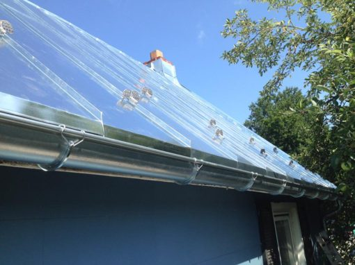 Galvanized Standing Seam Roof – Sykesville, Maryland