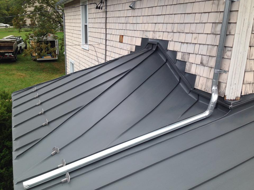 Historic Restoration Rheinzink Graphite Grey Roof