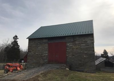 Forest Green Standing Seam – 1836 Historic Barn – Brookville, Maryland.